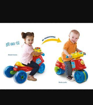 moto niñ@ vtech
