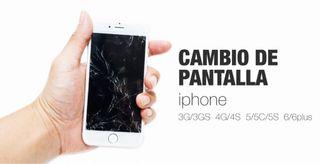 Cambio pantalla iphone