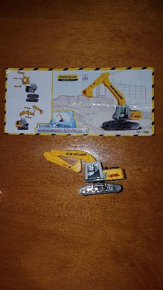 figura kinder excavadora NV096 +bpz nuevo