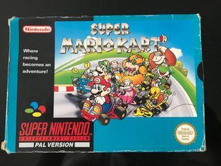 Mario kart for nintendo snes