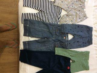6 pantalones bebé