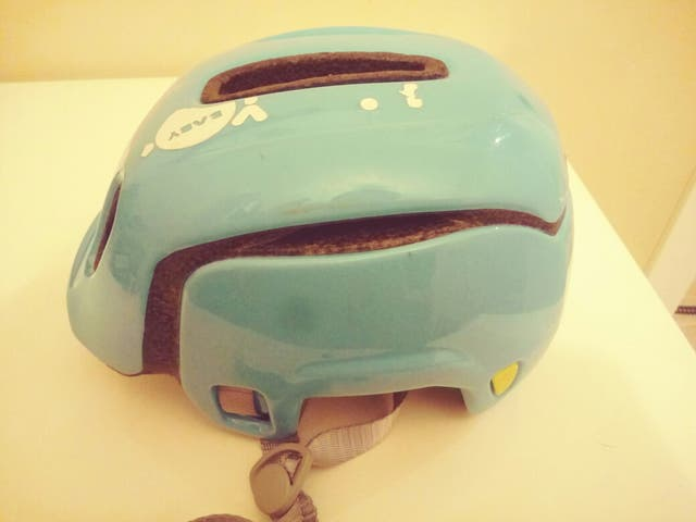 casco bici bicicleta niño niña