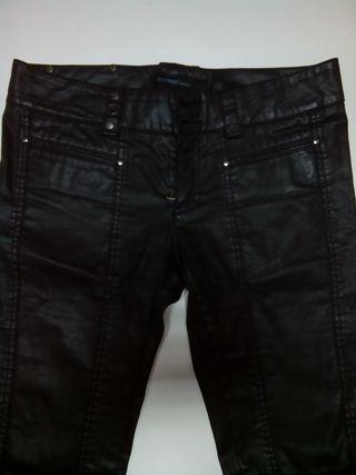 pantalón Cooked efecto cuero