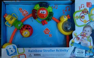Rainbow stroller activity