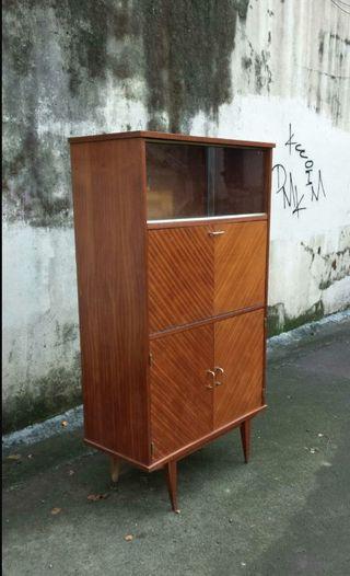 Mueble vitrina vintage de segunda mano por 295 en bilbao - Mueble vintage segunda mano ...