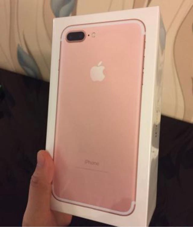 Iphone S Plus Rosa Segunda Mano