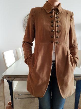 Abrigo mujer zara