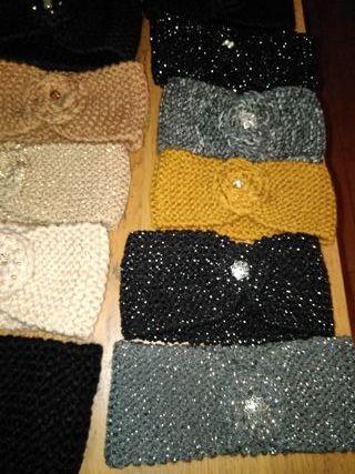 Turbantes de lana hechos a mano Mínimo 2 unidades