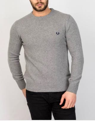 Jersey Fred Perry lana merina