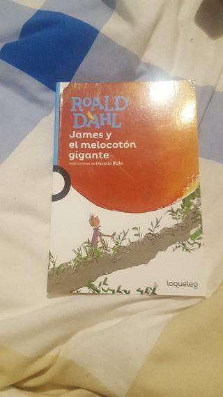Libro James y el melocotón gigante