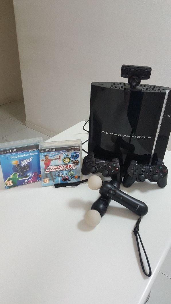 Consola PS3 FAT + Move