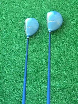 juego maderas 1 y 5 golf dama Mizuno
