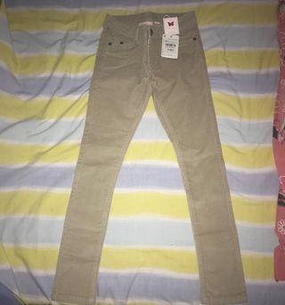 Pantalones de pana niña talla 10-11