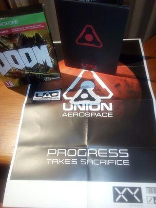 caja Doom Xbox one