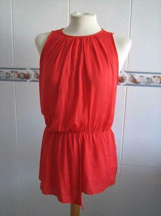 Blusa roja pasión talla S