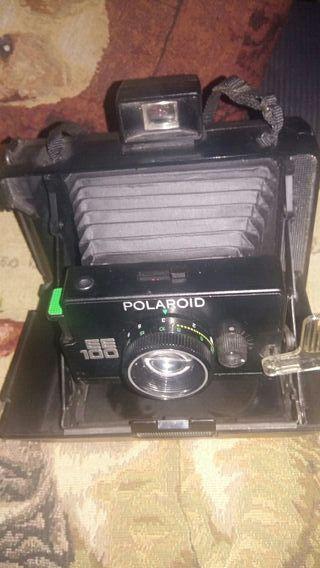 camara de foto polaroid de fuelle