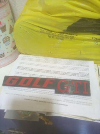 emblema trasero golf mk2 gti
