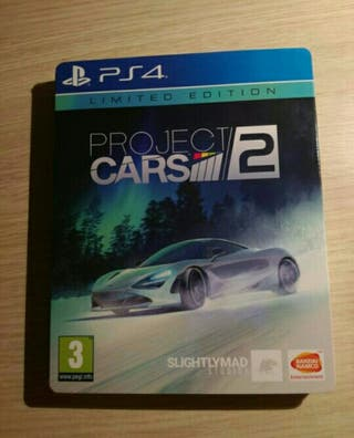 Project cars 2,caja metálica