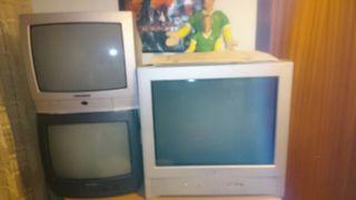 Televisores en funcionamiento
