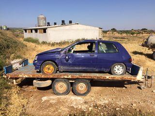 Remolque plataforma coche