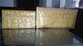 cartera monedero de piel alta calidad