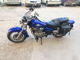 Moto custom cambio por moto enduro