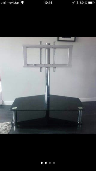 Mesa de television con soporte