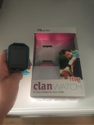 Reloj interactivo clan