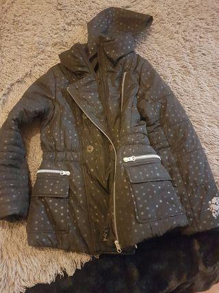 abrigo niña talla 8-9