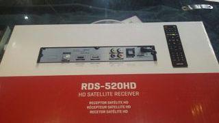SINTONIZADOR SATÉLITE RDS-520HD