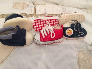 Zapatos bebe 0-6 meses