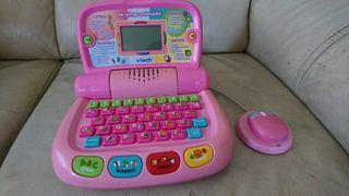 ordenador portátil niña