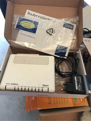 Router adsl telefonica