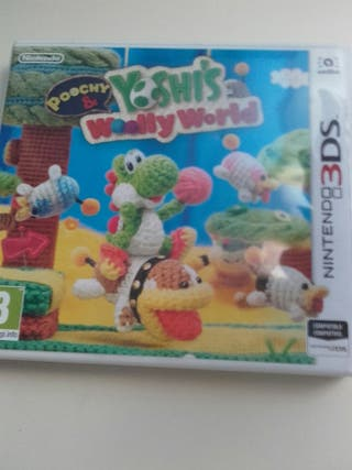 Videojuego yoshi's woolly world 3ds