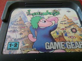 Lemmings game gear
