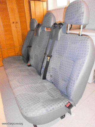 asientos traseros ford transit 2007