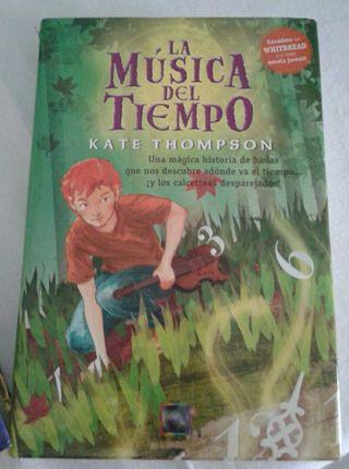 Libro la Musica del Tiempo (Juvenil)