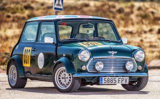 mini clásico replica win rally Montecarlo 1964