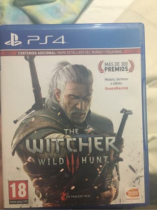 Juego ps4 the witcher 3