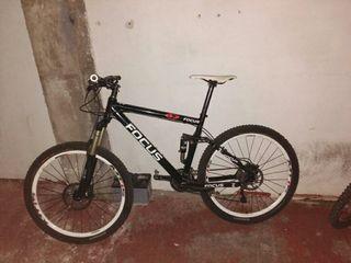 bici montaña doble
