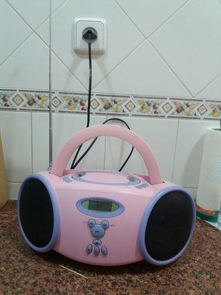 Radio CD de Disney