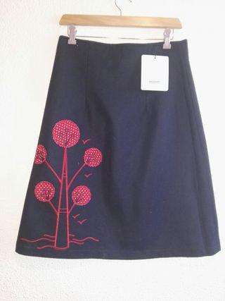 falda T 38 divina providencia