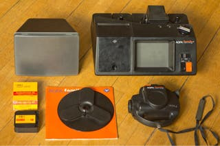 Proyector y cámara agfa family