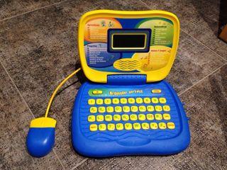 Ordenador portatil con pilas