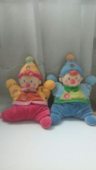 muñeco sonajero