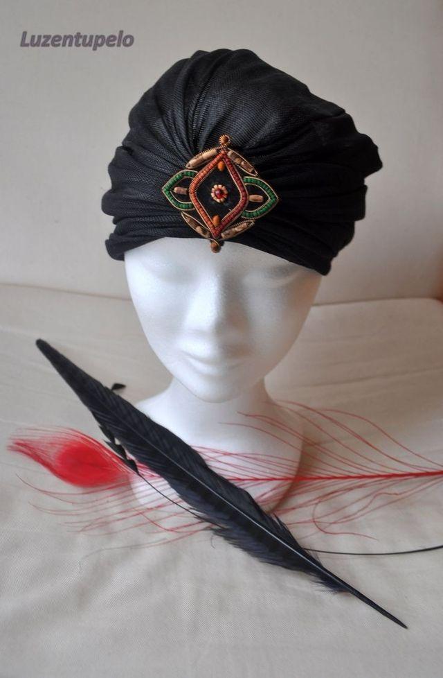 Tocado turbante