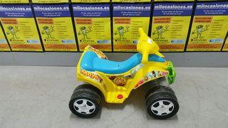 Moto batería infantil feber maya