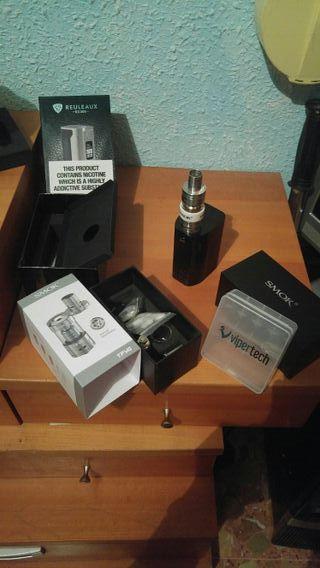 Vaper; Wismec Rx 300 Con Atomizador Smok TFV4