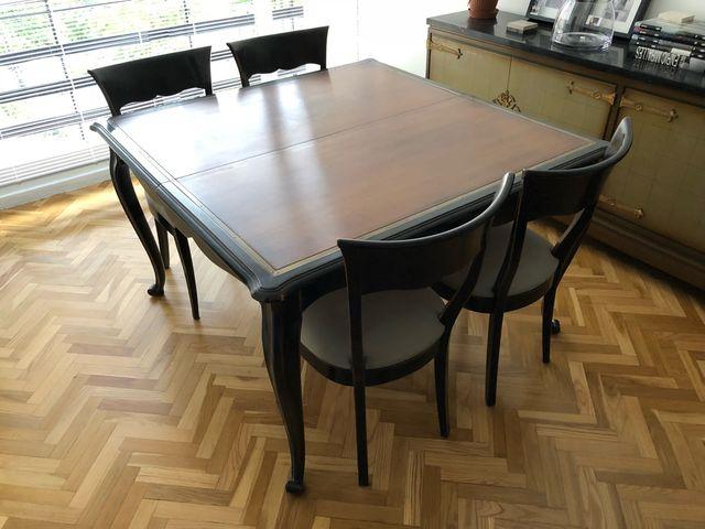 Conjunto Mesa comedor + sillas + buffet de segunda mano por 1.050 ...