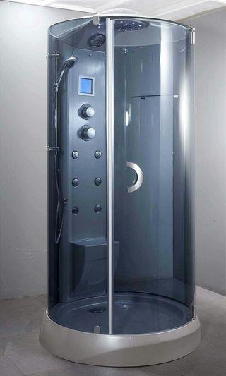 Bonita ltima cabina de ducha hidromasaje de segunda mano - Cabina de duchas ...